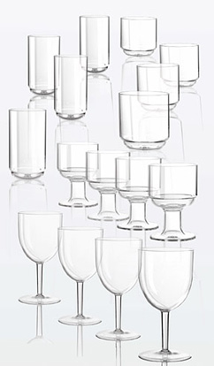 Patioware Plastic Glasses